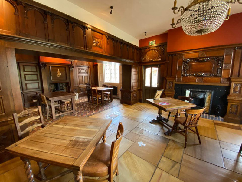 The Walnut Room at The Swan at Forton