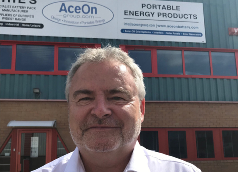 Richard Partington, managing director of Telford-based AceOn Energy