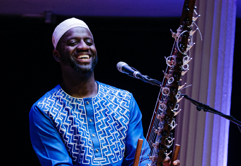 Seckou Keita will be performing at the virtual festival. Photo: Evan Dawson