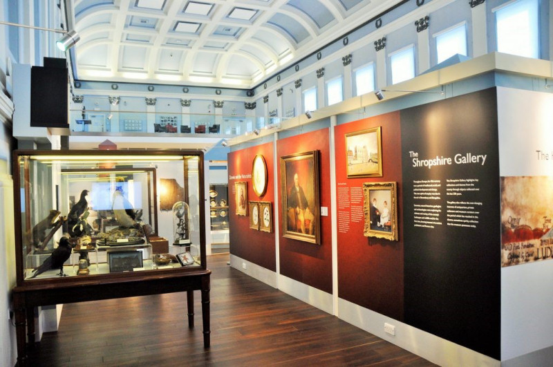 Inside Shrewsbury Museum & Art Gallery. Photo: Shropshire Council