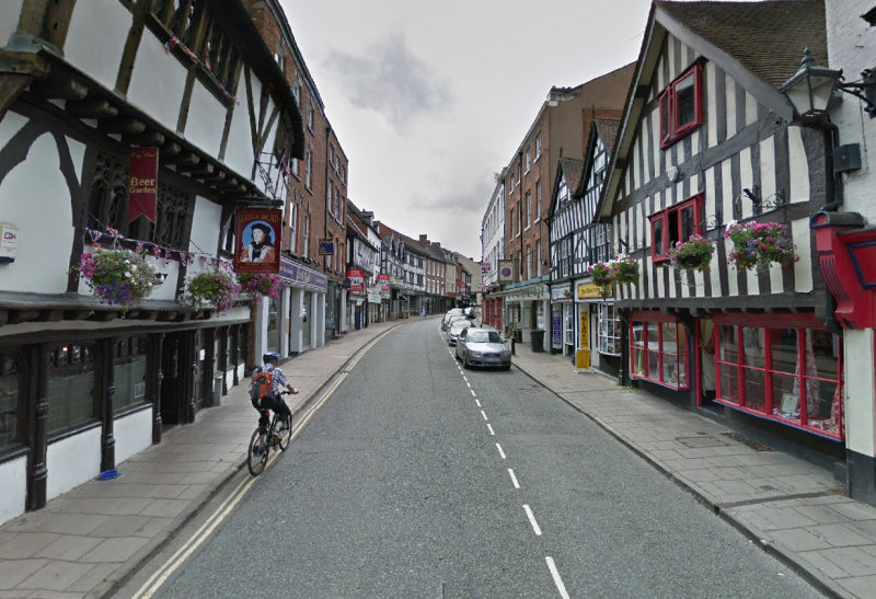 Mardol in Shrewsbury. Image: Google Street View