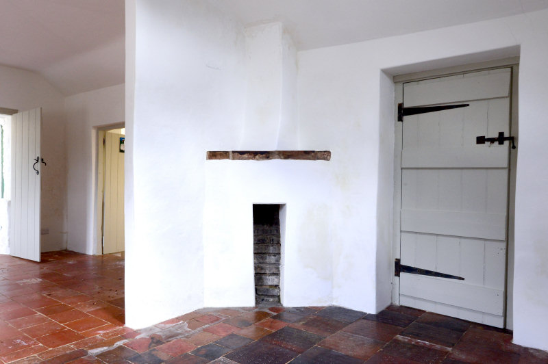 The inside of the building has been carefully restored