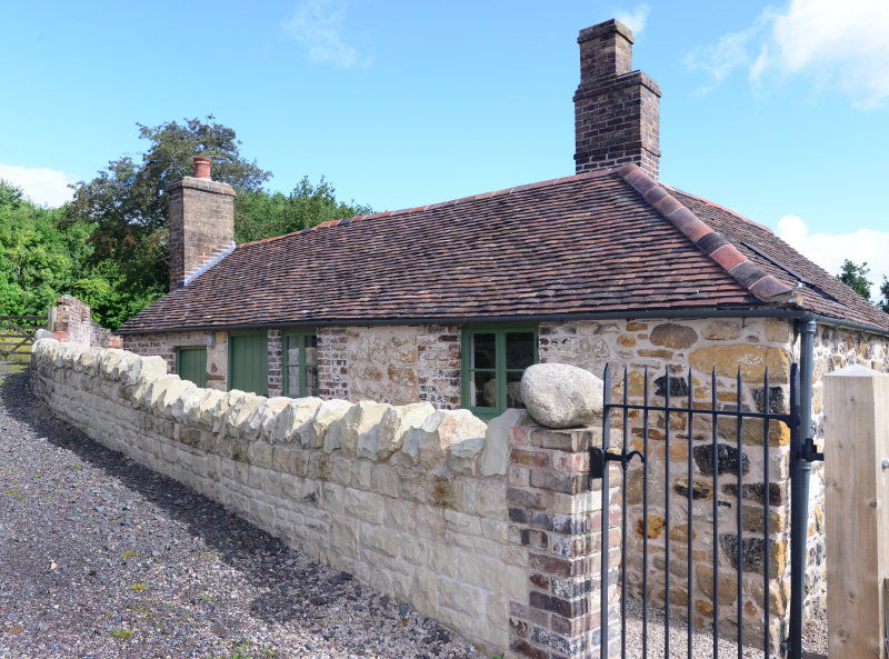 The transformed Squatters Cottage in Lightmoor Village