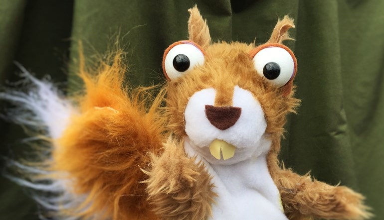 'Tales from the Trees' is a terrific tangle of puppetry, storytelling, live music and comedy, with a theme that embraces natural history, folklore and ecology
