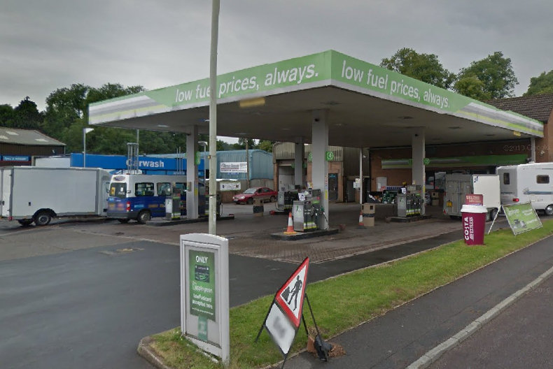 Applegreen Service Station in Church Stretton. Image: Google Street View