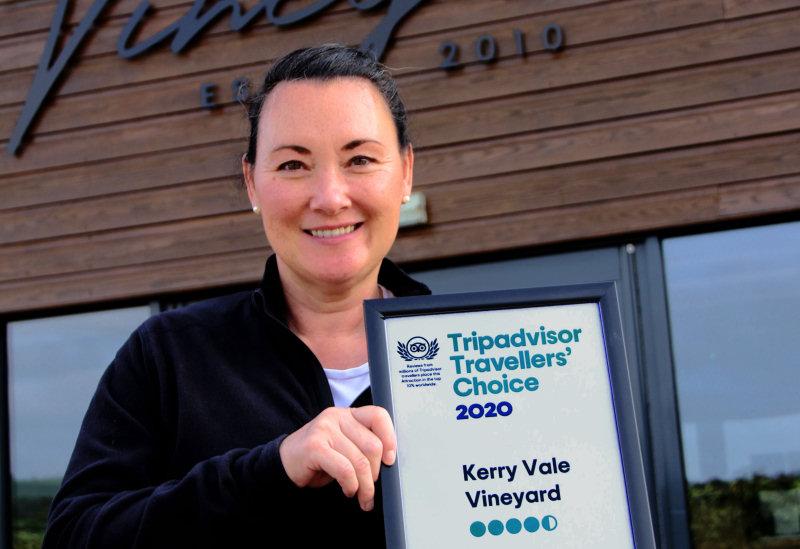 Janet Cooke, Owner of Kerry Vale Vineyard