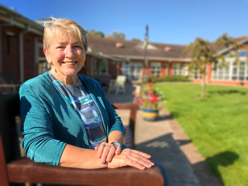 Jeanette Whitford, Severn Hospice chair