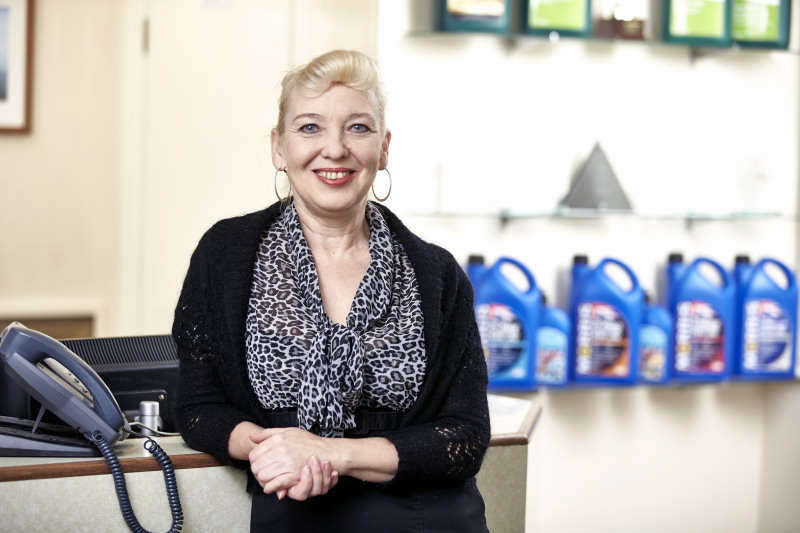 Maria is retiring after nearly 21 years at Morris Lubricants