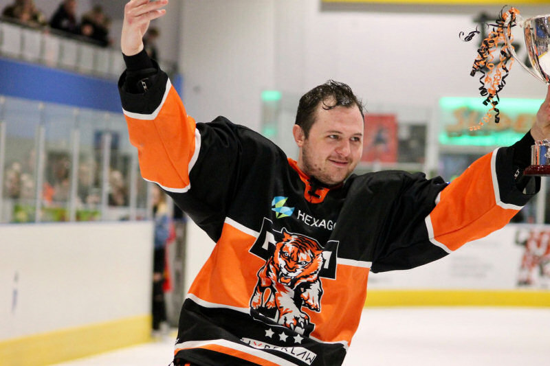 Andy McKinney has returned to Telford Tigers for the 20/21 season. Photo: ©Telford Tigers & Lauren Rankin Photography