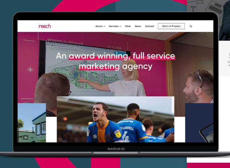 The new Reech website