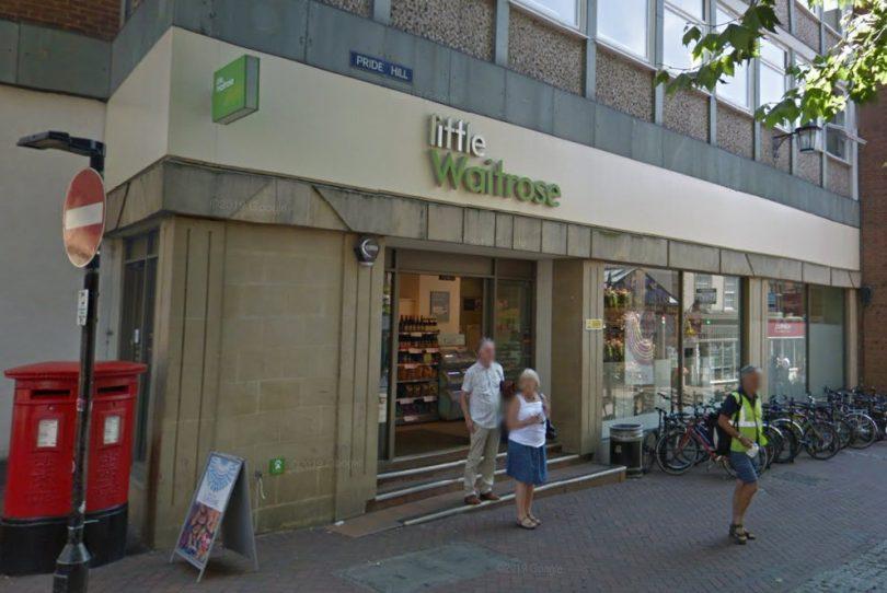Little Waitrose on Pride Hill in Shrewsbury. Image: Google Street View