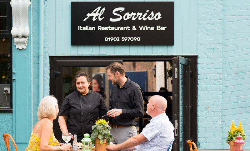 Al Sorriso, which is run by husband and wife team Luciana Palmieri and Mark Smith, has emerged from Covid-19 with exciting plans to become a destination dining venue
