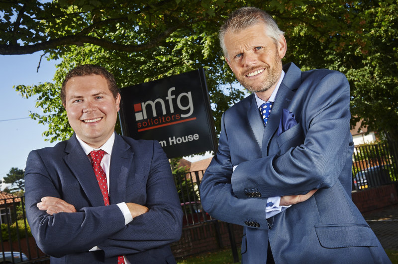 Andrew Chandler and Robert Weston of mfg Solicitors