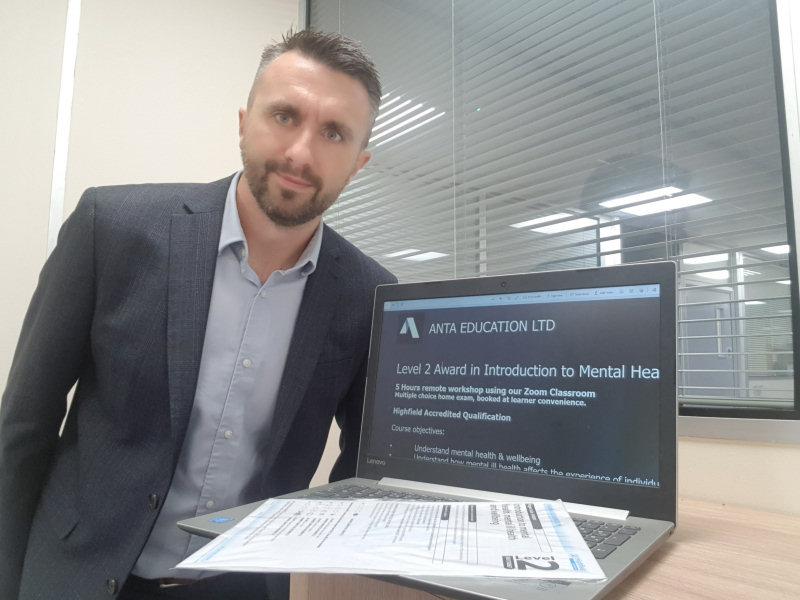 Craig Howard, Managing Director of ANTA Education Ltd