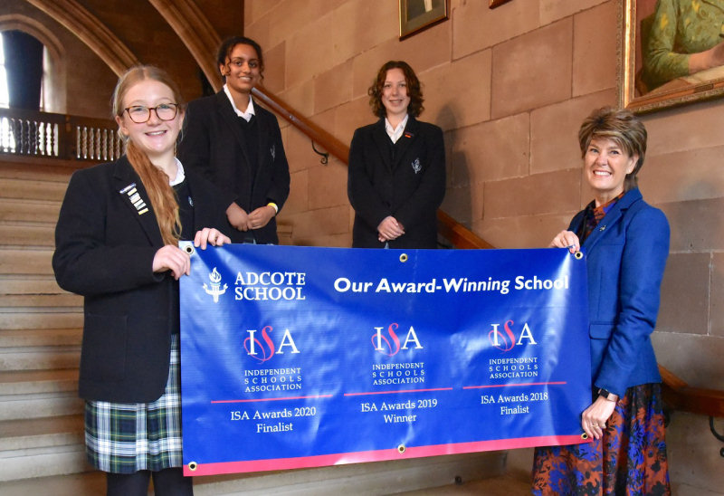 Adcote School hopes to secure a win for its Senior School in this year's ISA Awards