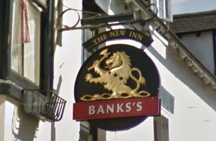 The New Inn, Bridgnorth. Image: Google Street View