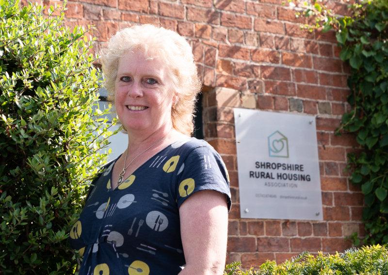 Sam Hine, Chair of Shropshire Rural Housing Association