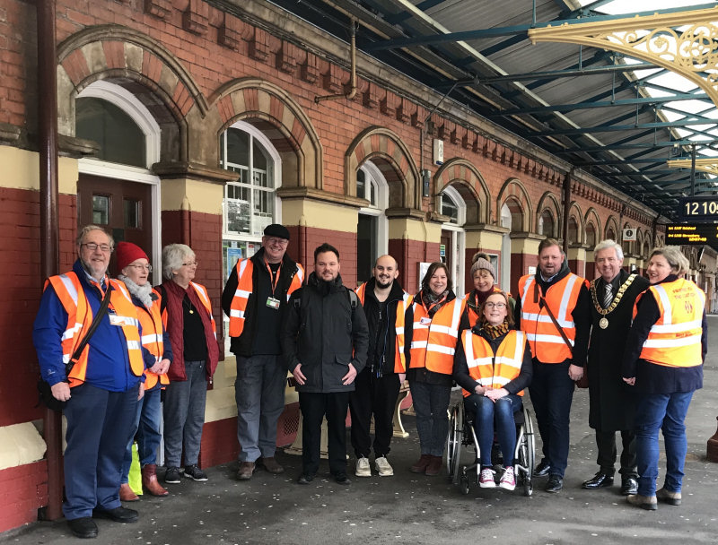 The voluntary Friends of Wellington Station group