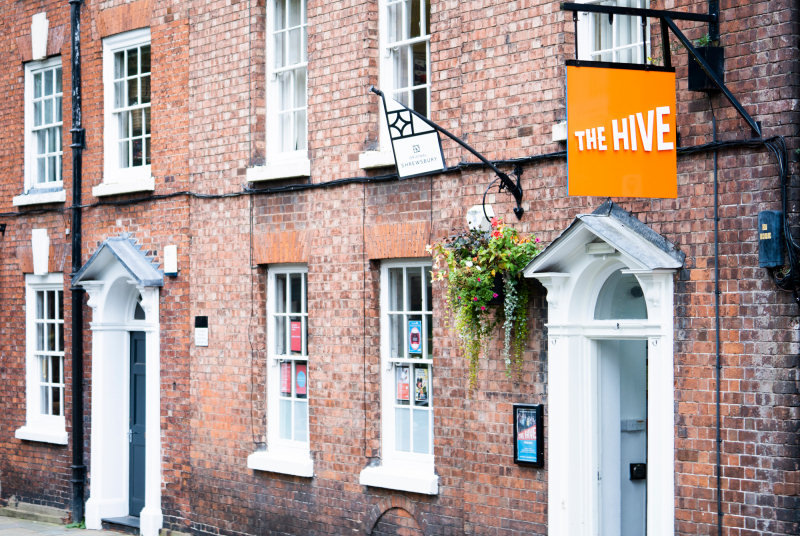 The Hive has been awarded £74,094 as part of the Government's £1.57 billion Culture Recovery Fund