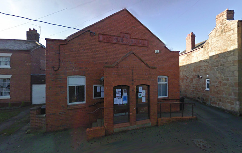 West Felton Village Hall. Image: Google Street View