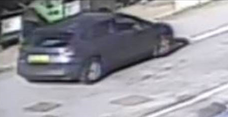 Police believe the vehicle pictured was at the scene of the shooting
