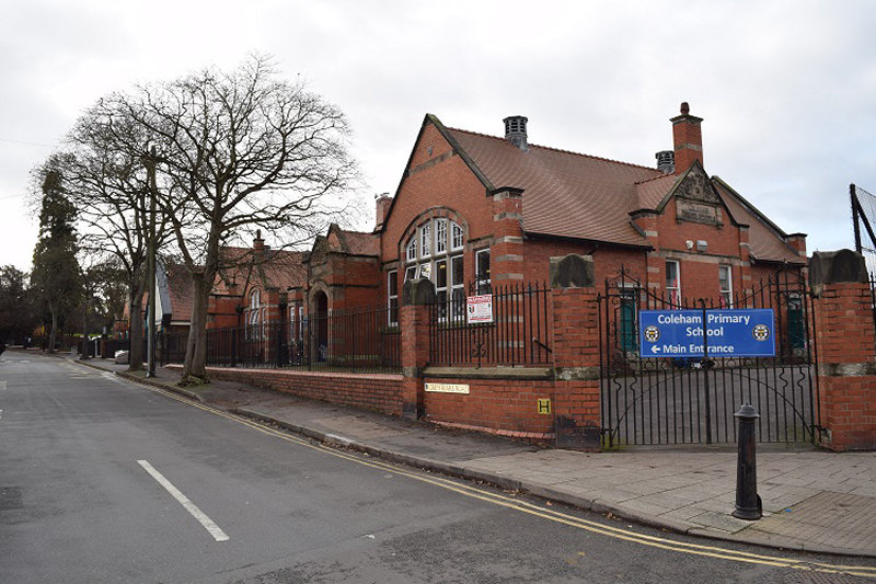 Coleham Primary School in Shrewsbury. Photo: Shropshire Council