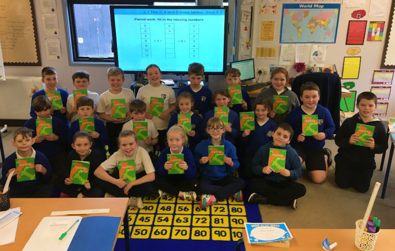 Year 5 have made an early bid in the hope of becoming the next 'Reading Champions!