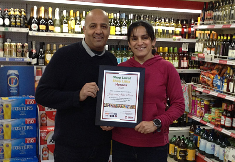 Joey and Julie Duhra of Jules Convenience