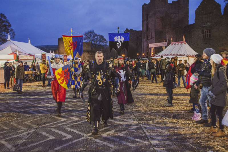 Ludlow Medieval Christmas Fayre is going virtual this year. Photo: Ashleigh Cadet