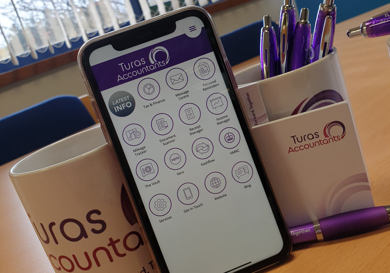The new app launched by Turas Accountants