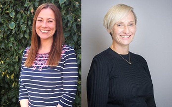 Victoria Handbury-Madin and Pam Hodgetts, who will be hosting the first meeting on March 29