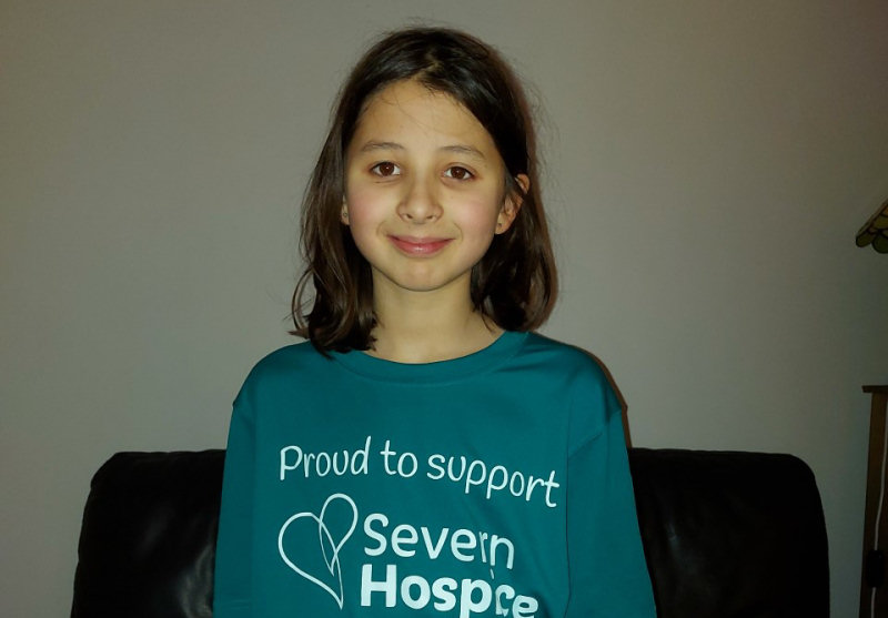 Immy decided to walk the equivalent of Land's End to John o' Goats in memory of her mum who was cared for by Severn Hospice -Hospice at Home nurses