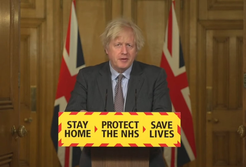 PM Boris Johnson has announced the government's roadmap to cautiously ease lockdown restrictions in England