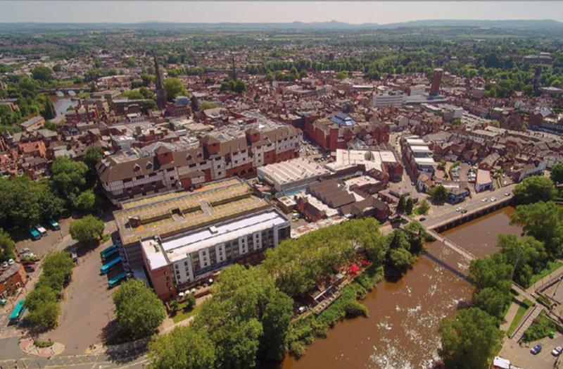 The Riverside area in Shrewsbury. Photo: Shropshire Council