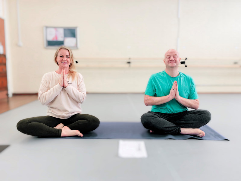 Yoga4Health which has been working with several of the homeless people who have been staying at the town's Prince Rupert Hotel