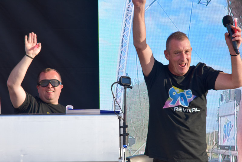 DJs Dave and Benno
