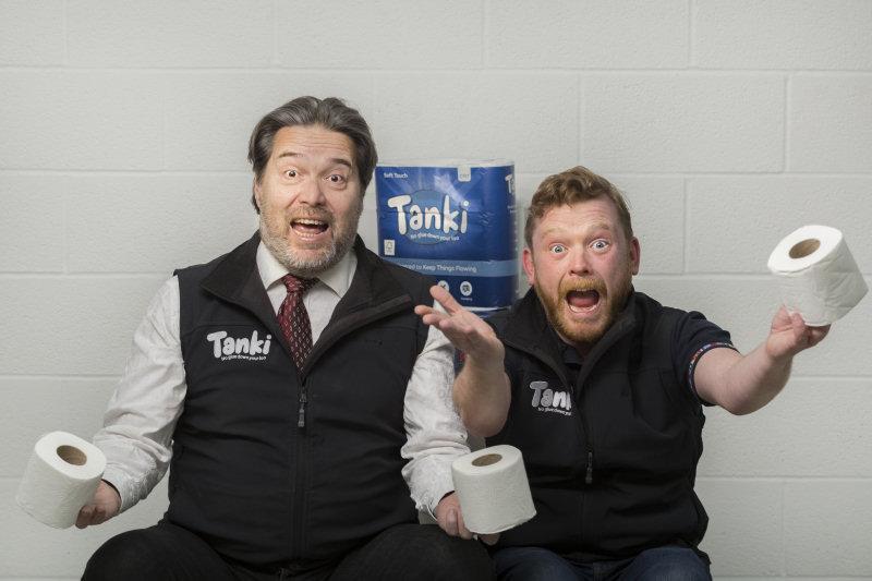 Mark Collins and Matt O'Crowley of Tanki