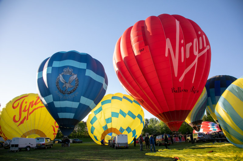 Telford Balloon Fiesta will return this August. Photo: Telford & Wrekin Council