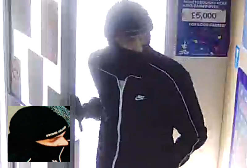Police have released a CCTV image of the suspect