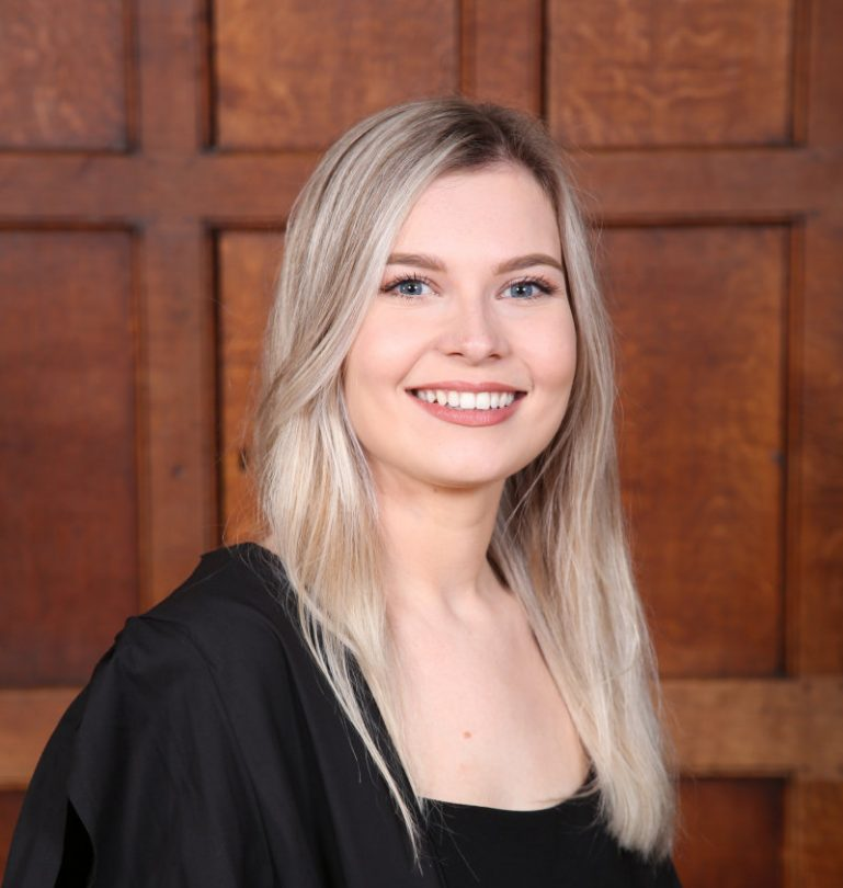 Gabrielle Butler, from Shifnal, has been named as a finalist in National Accident Helpline's Future Legal Mind Award 2021