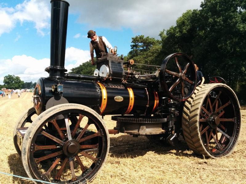 Shrewsbury Steam Rally. Photo: Chris Pritchard