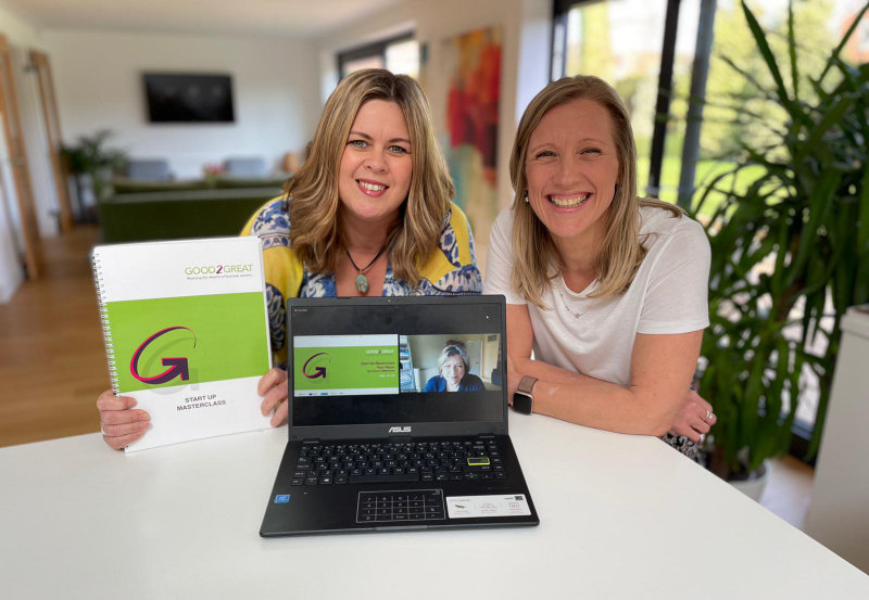 Kelly Page and business partner Katie Evans have set up Twin Oaks HR