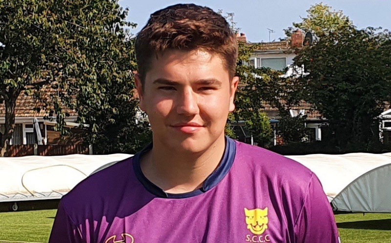 Matt Simmonds will captain Shropshire's Academy side on Sunday