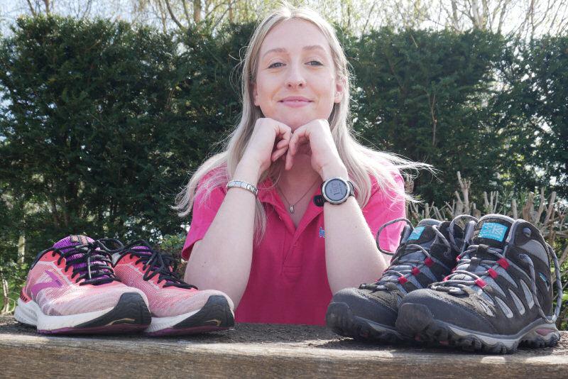 Fundraiser Bekki Fardoe is looking forward to the Midsummer Walk