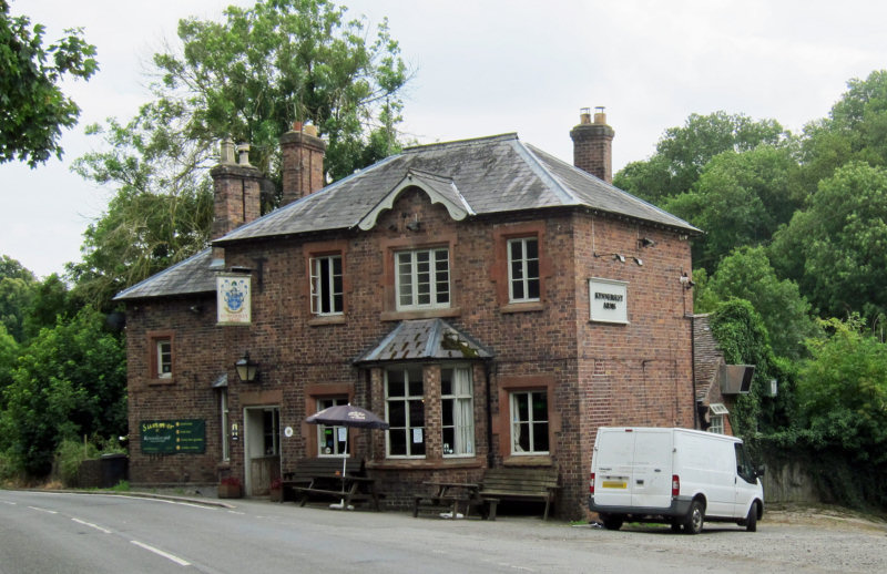 The Kynnersley Arms in Leighton