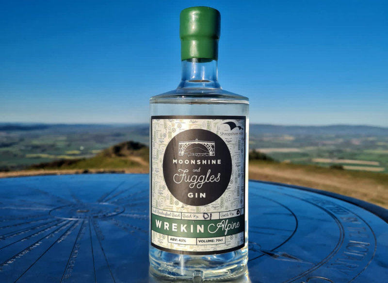 The new Wrekin Alpine gin