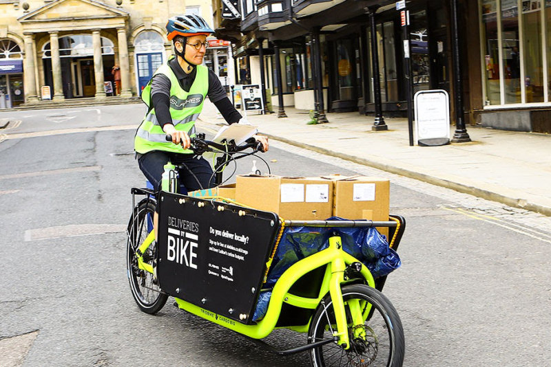 The initial 8-month trial period is free to local businesses