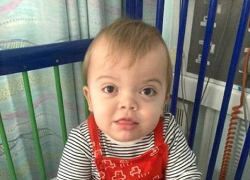 Eighteen-month-old Gunner urgently needs to find a lifesaving stem cell donor for his condition