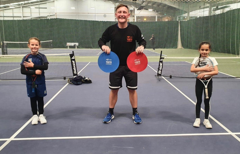 Henry Broadhurst, the schools tennis co-ordinator at The Shrewsbury Club, has organised the Tennis Shropshire Schools Roadshow this week as part of the new LTA Youth Programme