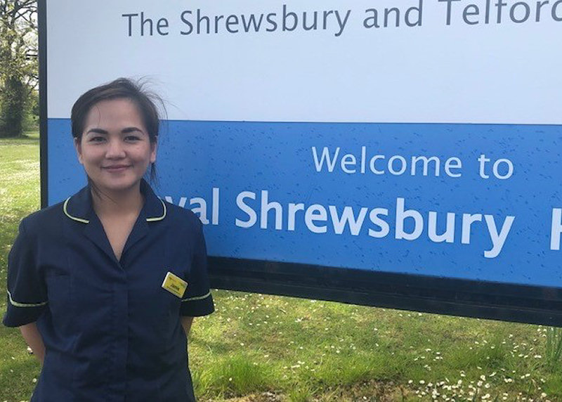 Jamie Henry, a Professional Development Nurse for the International Nursing Team